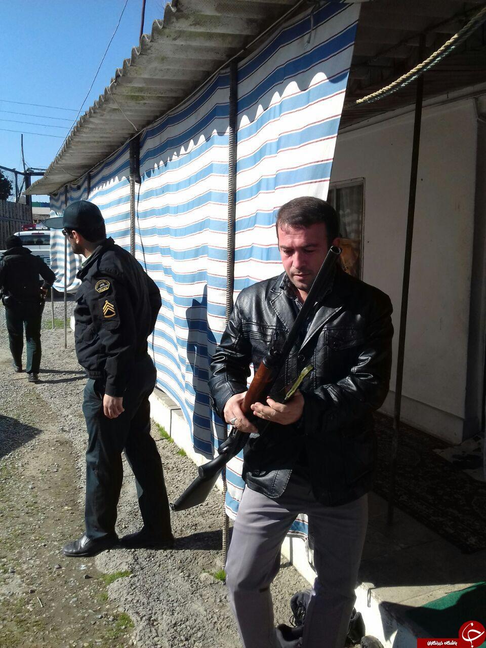 جدیدترین تصاویر از دستگیری شاه مازندران
