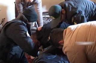 لحظه دستگیری شاه مازندران + فیلم