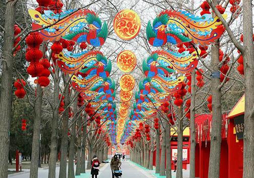 حال و هوای شهرهای چین به مناسبت سال نو + تصاویر