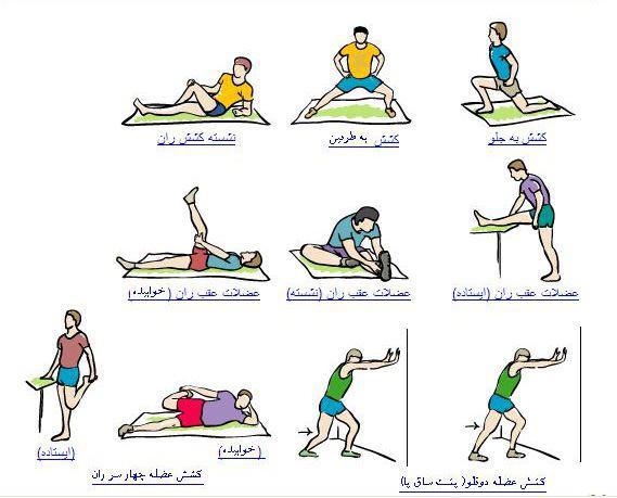 تناسب اندام با ورزش در منزل (3) + تصاویر