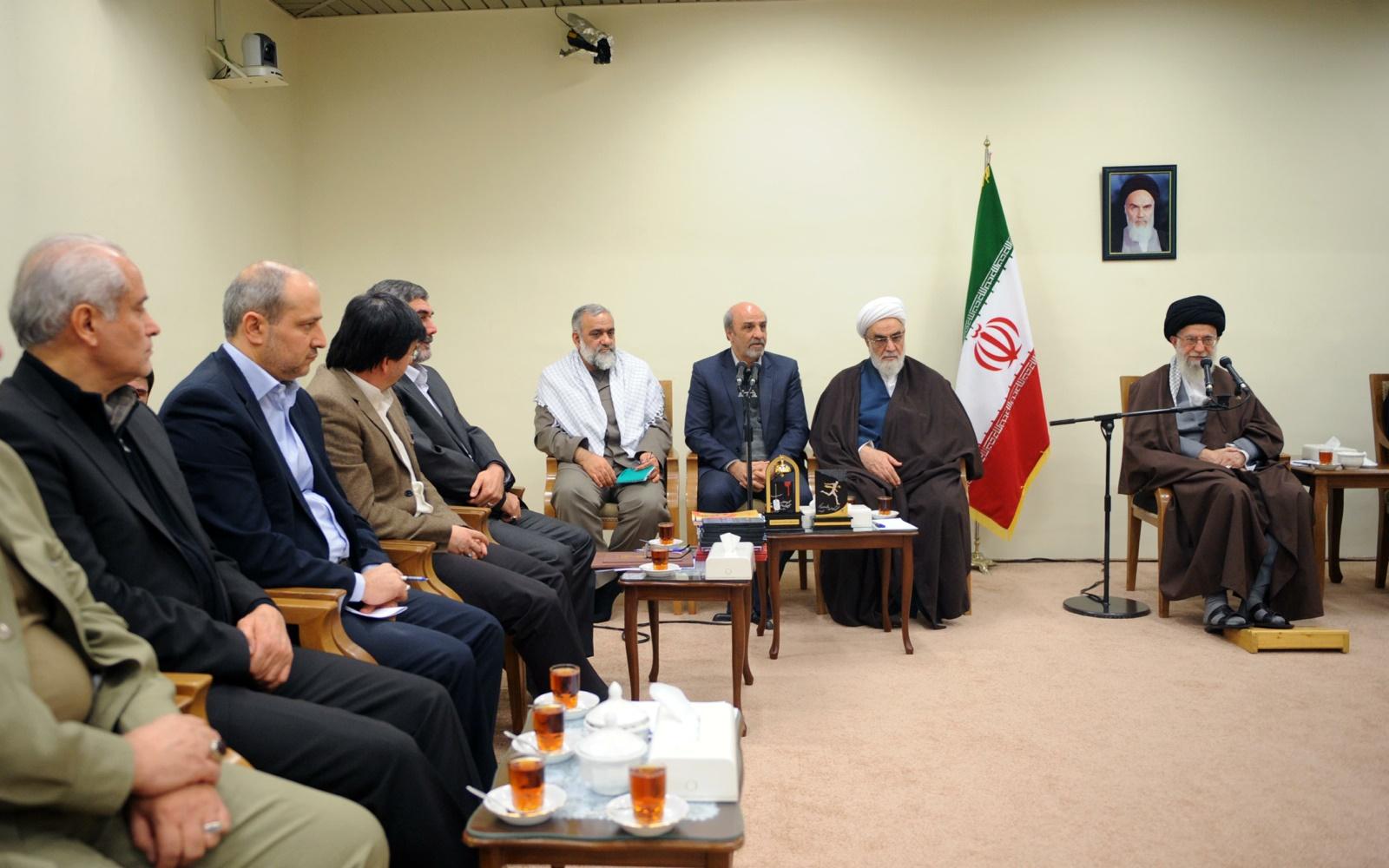 بیانات رهبر معظم انقلاب اسلامی در دیدار دستاندرکاران کنگره شهدای ورزش کشور + فیلم