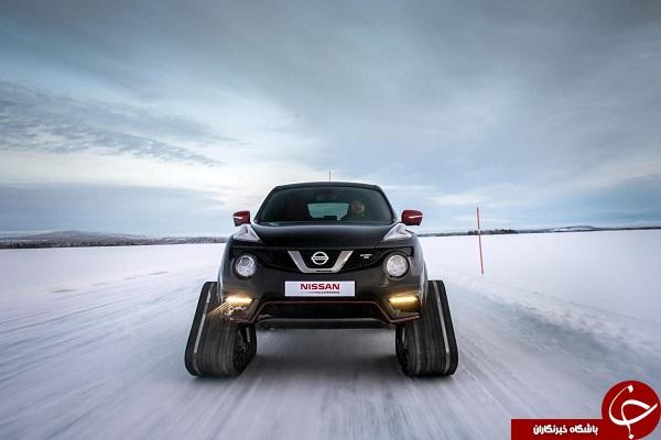 خودروی برف روی تمام عیار نیسان