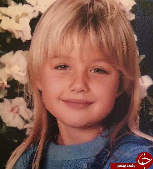 عکسی از کودکی گلوریا هاردی بازیگر سریال کیمیا