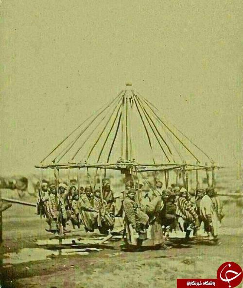 شهربازی در زمان قاجار + عکس