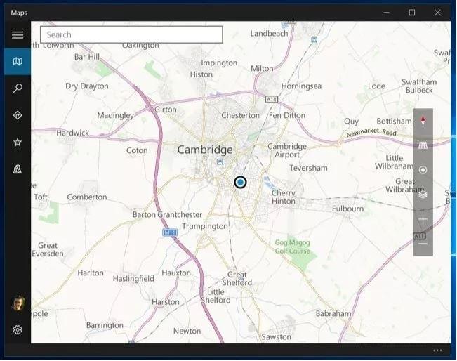 نقشه آفلاین هدیه به کاربران ویندوز 10