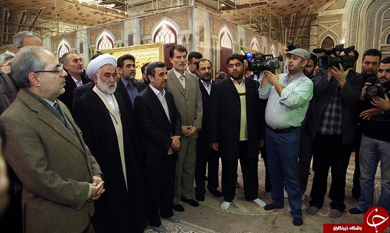 احمدی نژاد دوباره آمد + تصاویر