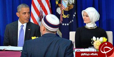 اوباما در مسجد بالتیمور: اظهارات ضداسلامی محکوم است