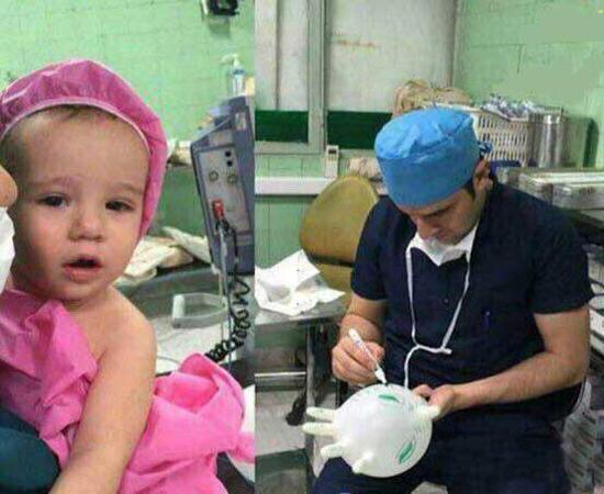 اقدام ستودنی جراح ایرانی + عکس