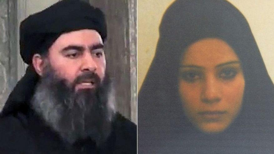 خواهرزن خلیفه خودخوانده داعش در زندان کردستان عراق+ تصویر