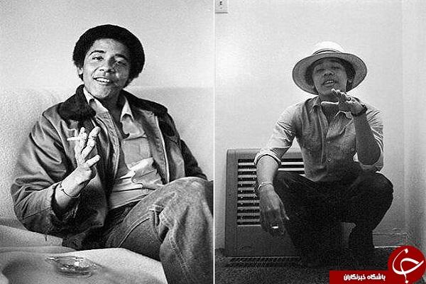 اوباما با تیپ داش مشتی آمریکایی +عکس