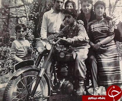عکس منتشر نشده از نوجوانی فرح پهلوی
