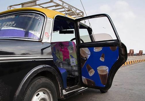 تاکسیهای هزار رنگ بمبئی +عکس