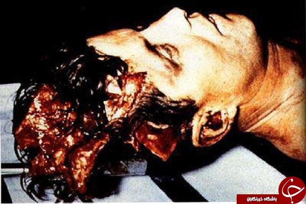 جسد رئیس جمهور اسبق آمریکا +تصاویر18+