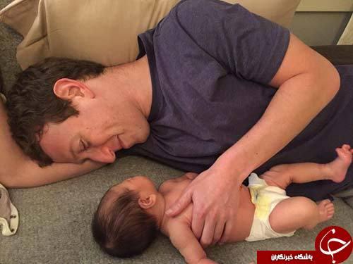 مدیرعامل فیس بوک نام دخترش را اعلام کرد!