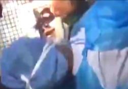 باشگاه خبرنگاران - لحظه نجات یافتن یک نوزاد زنده در فاضلاب دانشگاه + فیلم