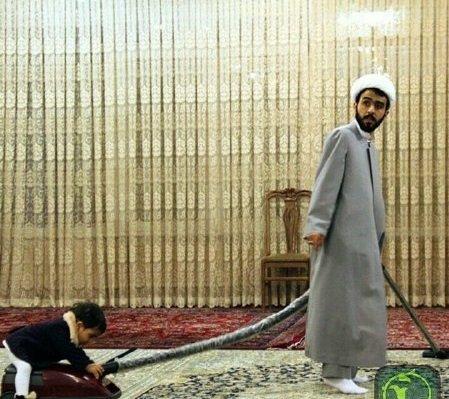 وبسایت مشبل: روحانی ایرانی ستاره اینستاگرام شد+ تصاویر
