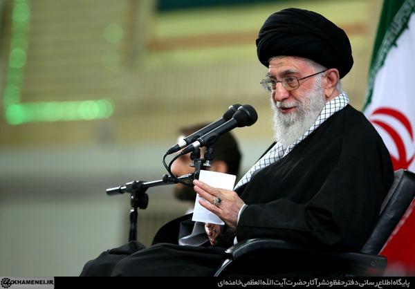 بیانات رهبر معظم انقلاب اسلامی در دیدار فرماندهان نیروی هوایی و پدافند هوایی ارتش