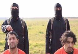 باشگاه خبرنگاران - اعدام خونین دو زندانی به دست داعش + فیلم(18+)