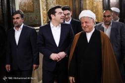باشگاه خبرنگاران - دیدار رئیس مجمع تشخیص مصلحت نظام  با نخستوزیر یونان