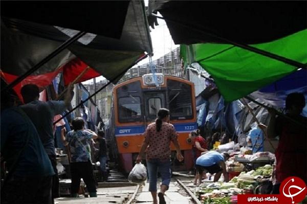 خطرناک ترین بازار جهان + تصاویر