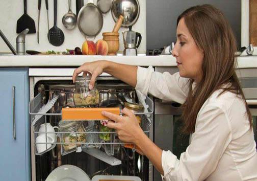 پختن غذا در ماشین ظرفشویی! + تصاویر
