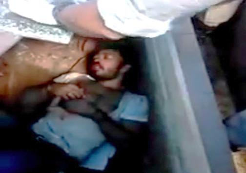 نجات مردی که زنده در قبرستان دفن شد + تصویر