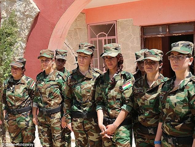 بردگان جنسی سابقِ داعش، انتقام جویانِ دلاور امروز+ تصاویر