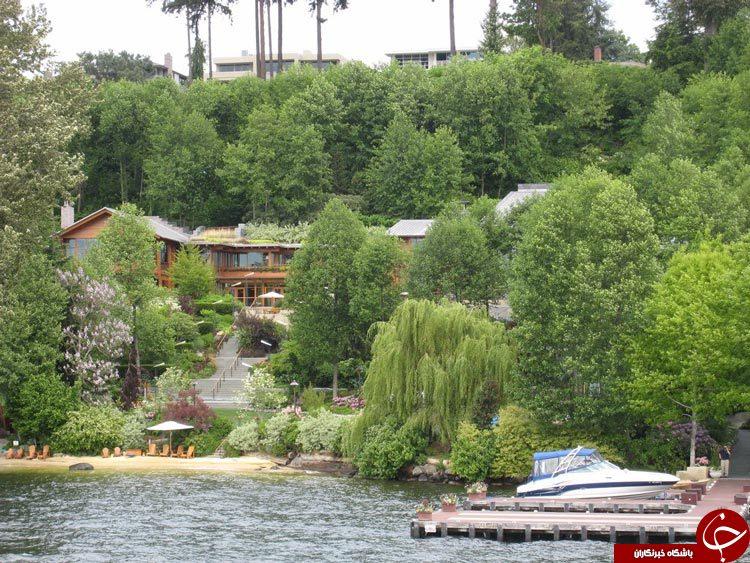 آیا تا کنون خانه رؤیایی بیل گیتس را دیده اید؟