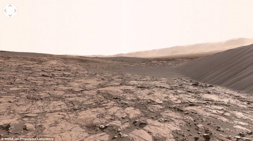 به راحتی در مریخ گردش کنید+ تصاویر