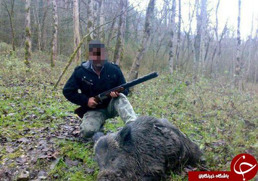 شکار شکارچی در فضای مجازی+تصویر