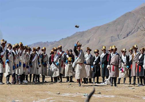جشن سال نو در میان مردم تبت + تصاویر