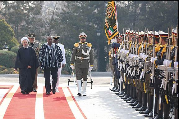 رئیسجمهور غنا پس از 37 سال در تهران/ روحانی میزبان نخستین مسافر پسابرجامی قاره آفریقا