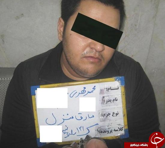 دختر جوان همدست تبهکار درشت هیکل پایتخت/ «غول» با تیر پلیس زمینگیر شد+عکس