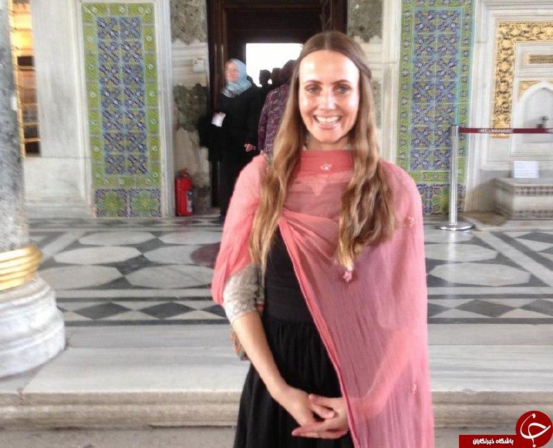 وقتی یک زن بی حجاب را امام جماعت می کنند + تصاویر