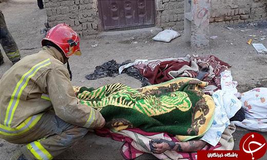 اولین حادثه دلخراش چهارشنبه سوری به روایت تصویر