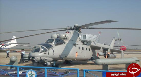 هلیکوپتر میل 35 ابزار کرملین در جنگ سوریه