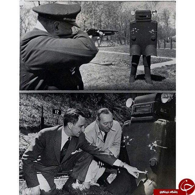 نخستین زره ضد گلوله پلیس در دنیا+ عکس