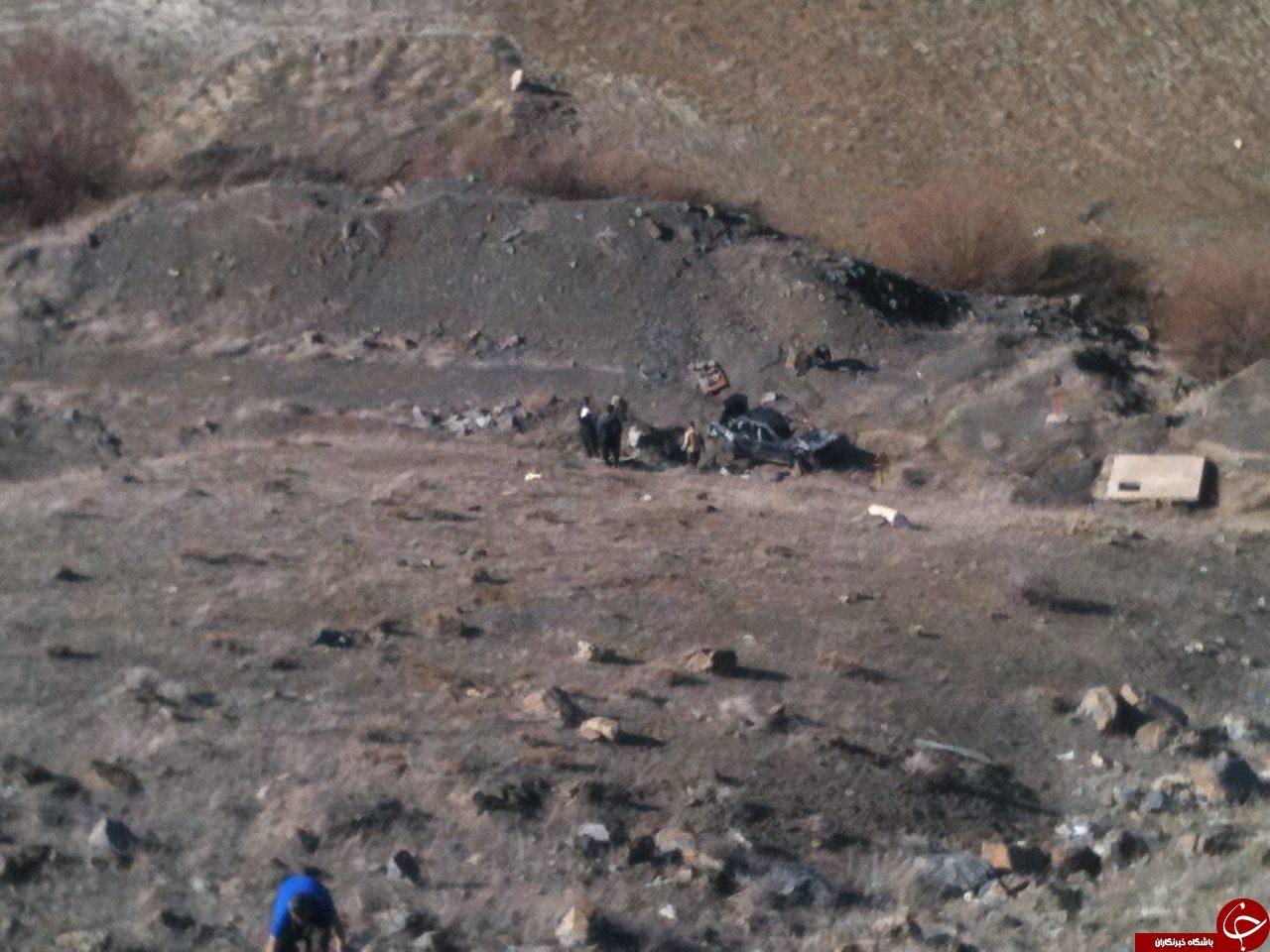 سقوط خودروی پراید به داخل دره + تصاویر