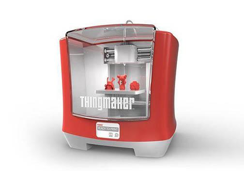 با این چاپگر سه بعدی کودکان می توانند خودشان سازنده اسباب بازی شوند + تصاویر