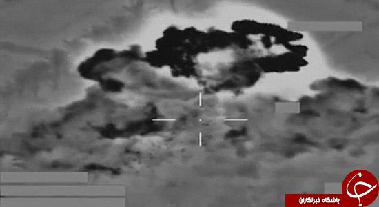 انهدام مواضع داعش با موشک