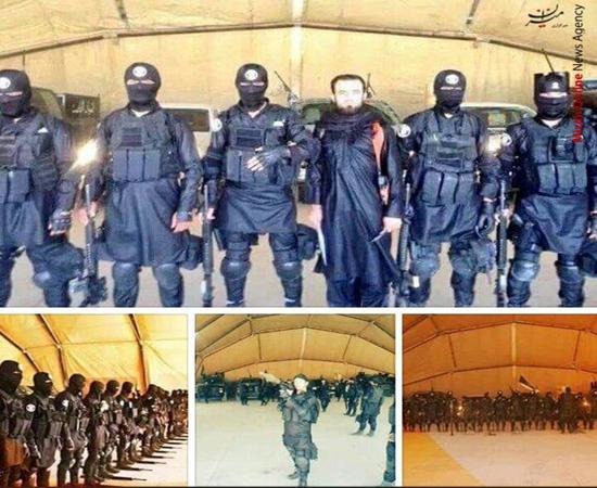 یگان ویژه داعش رونمایی شد (+ عکس)