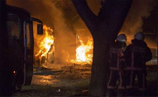 وقوع انفجار مهیب در پایتخت ترکیه/18 کشته تا این لحظه