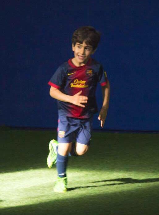 فوتبالیست ایرانی به بارسلونا پیوست + عکس