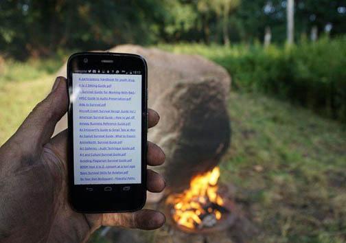 این وای فای با آتش روشن می شود! + تصاویر