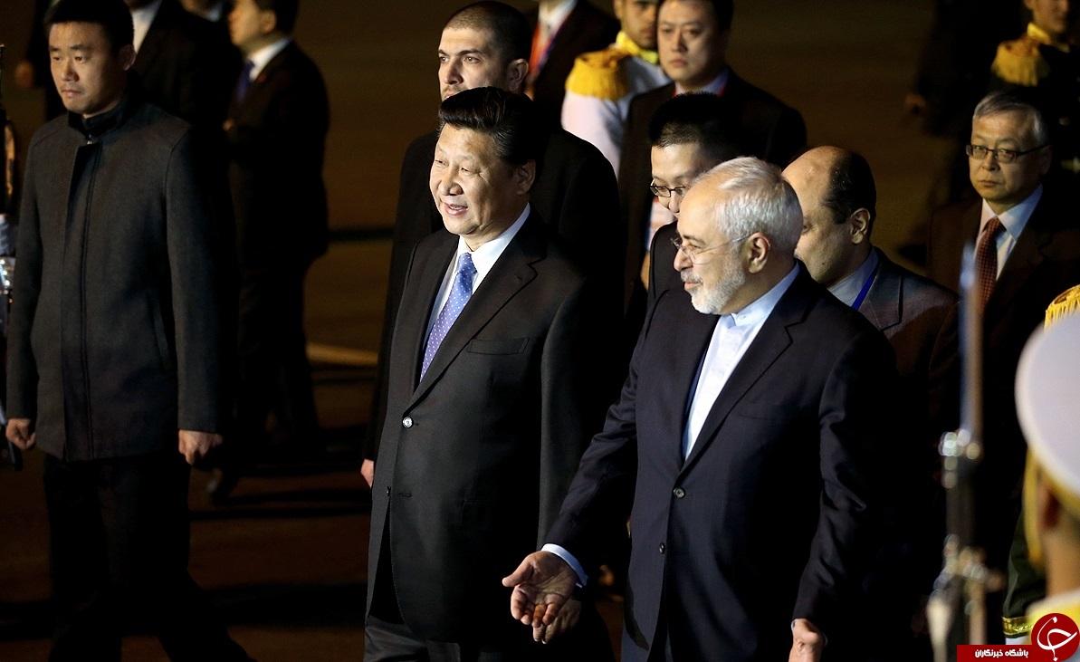 رئیسجمهور چین وارد تهران شد