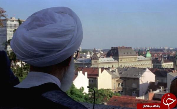 تصاویر دیده نشده از سفر آیت الله جنتی به اروپا