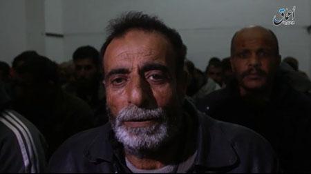 اسارت دهها نیروی ارتش سوریه به دست  داعش+ تصاویر