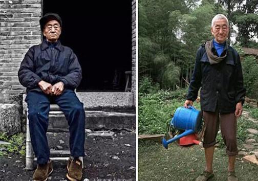 پدربزرگ خوش پوش 85 ساله! +عکس