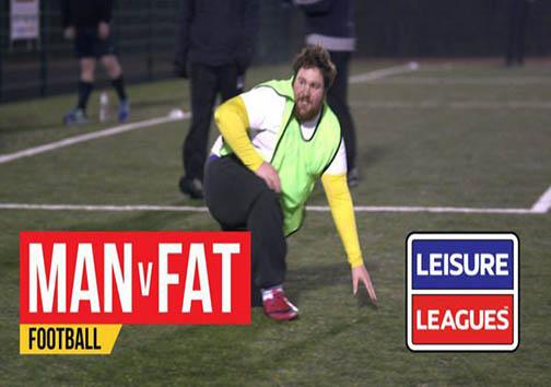 لیگ فوتبال مردان سنگینوزن + تصاویر