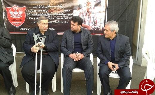 مراسم تشییع پیکر همایون بهزادی/ آخرین وداع با سرطلایی